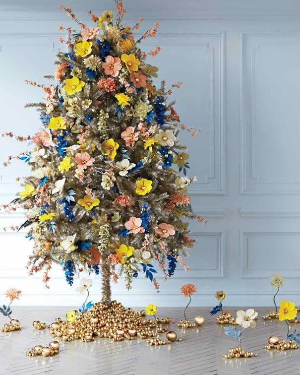 Новогодние елочки буквально расцветают в руках этих умельцев! рис 10