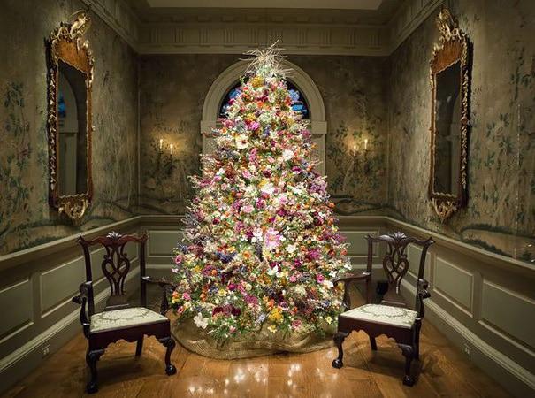 Новогодние елочки буквально расцветают в руках этих умельцев! рис 9