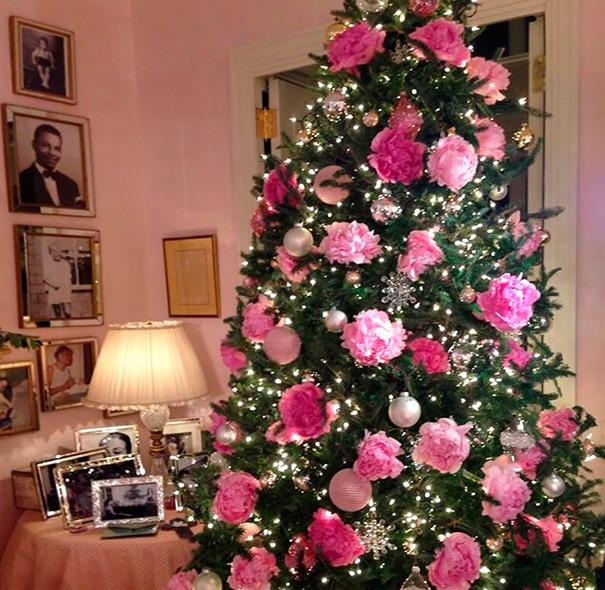 Новогодние елочки буквально расцветают в руках этих умельцев! рис 8