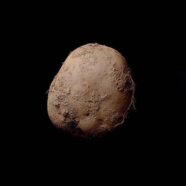 Коричневый картофель Эбоша рис 2