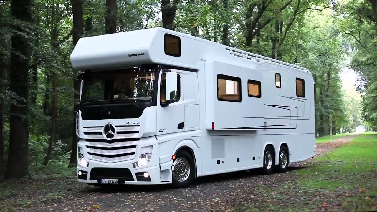 кемпер Mercedes