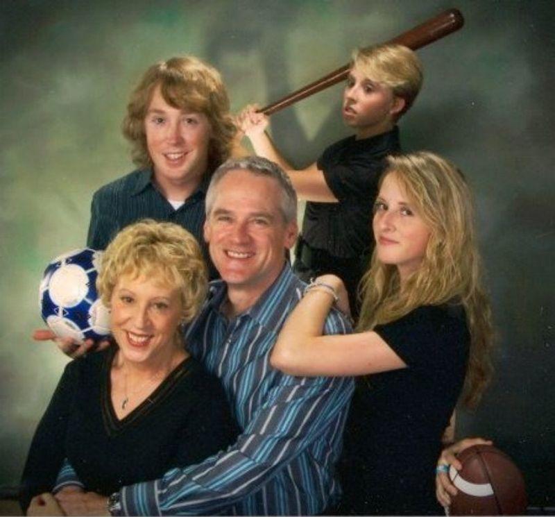 нелепые семейные фото рис 2