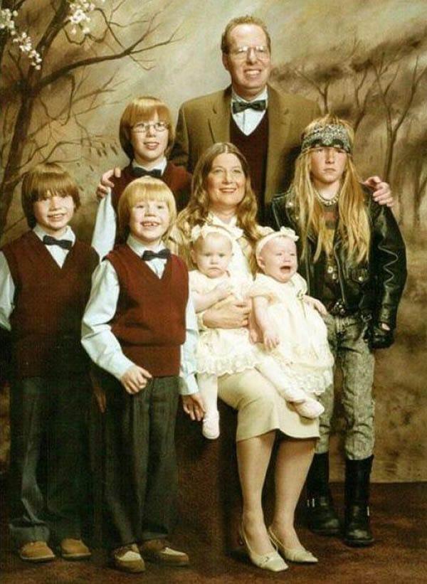 нелепые семейные фото рис 6