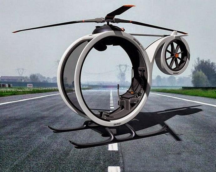 вертолет зеро