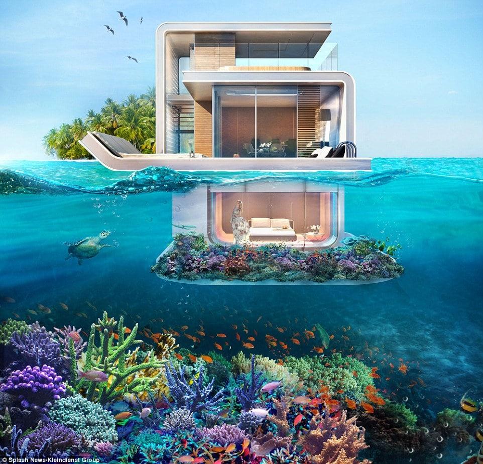 floating villa рис 3
