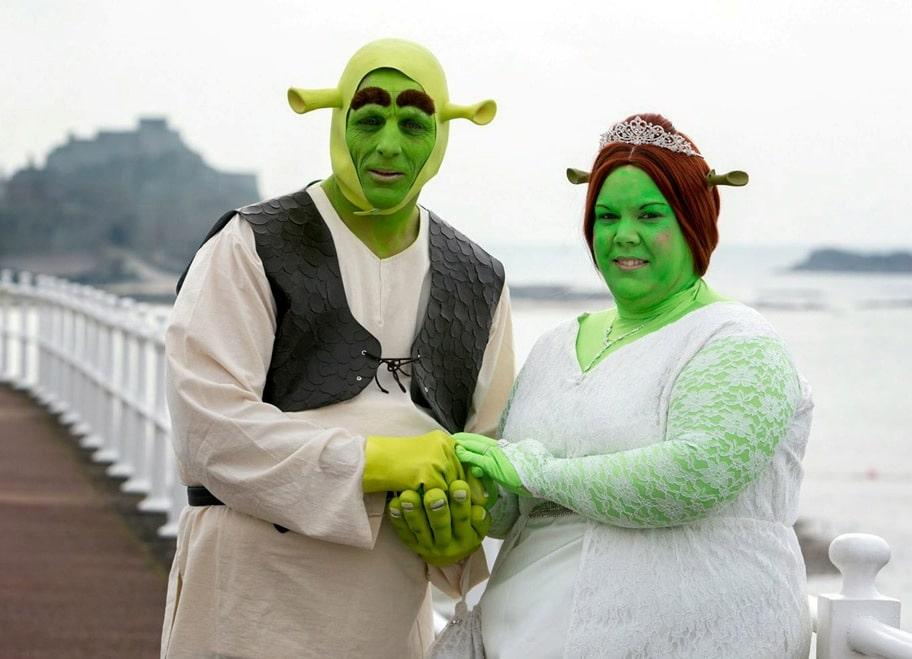 самые необычные невесты фото жилище спасало