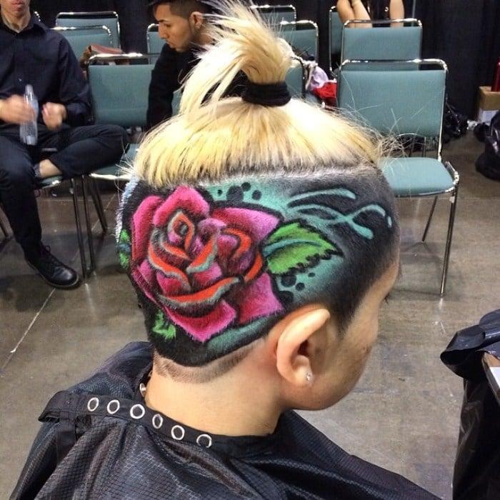 hairstyle рис 3