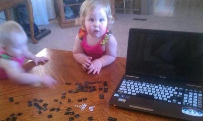 20 фотографий о том, почему с детьми никогда не бывает скучно рис 6