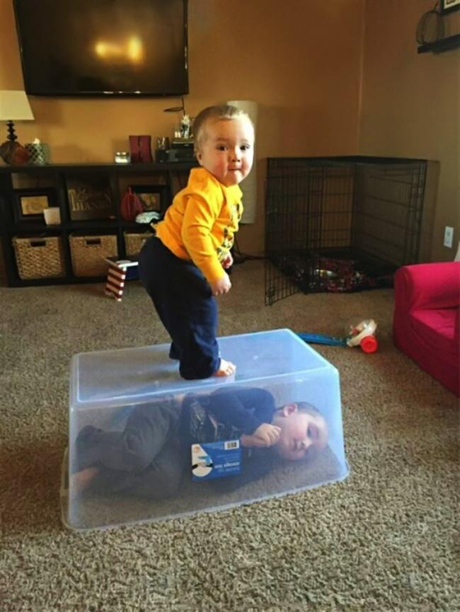 20 фотографий о том, почему с детьми никогда не бывает скучно рис 10