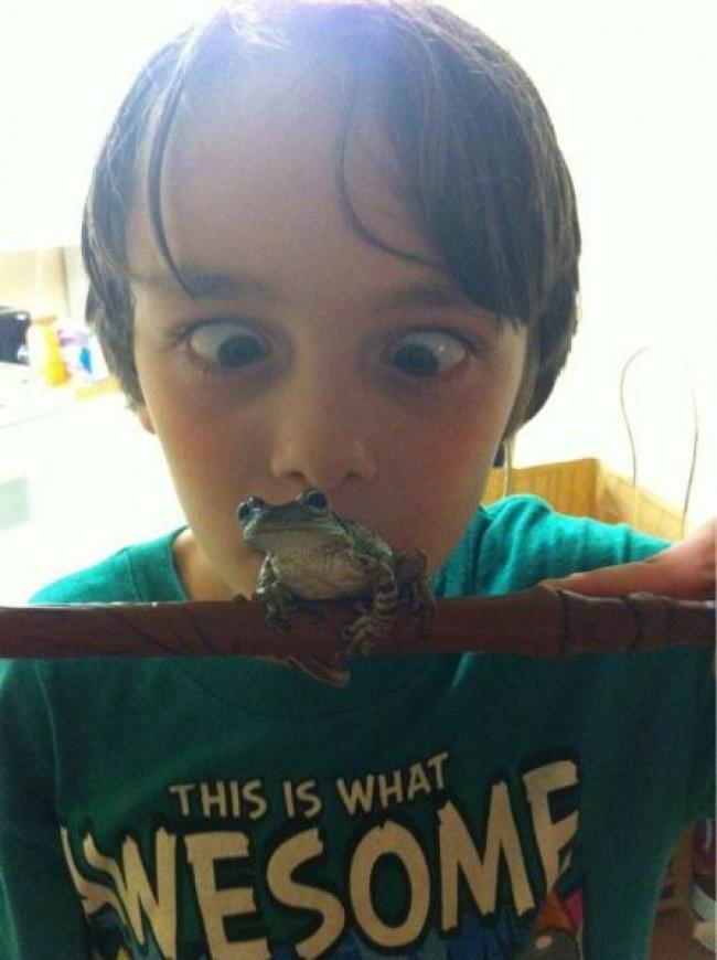 20 фотографий о том, почему с детьми никогда не бывает скучно рис 17