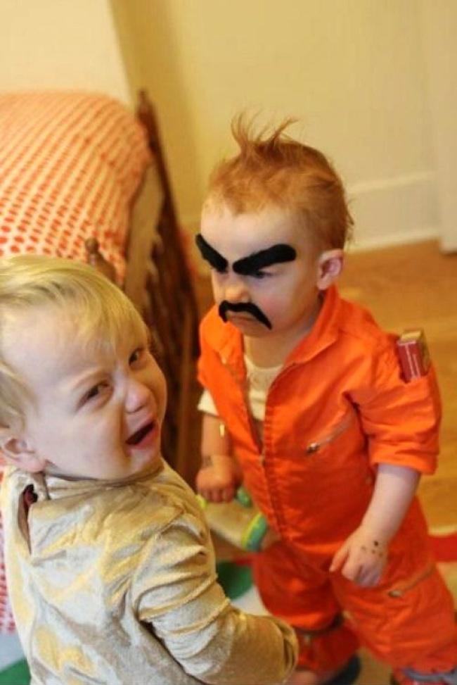 20 фотографий о том, почему с детьми никогда не бывает скучно рис 12
