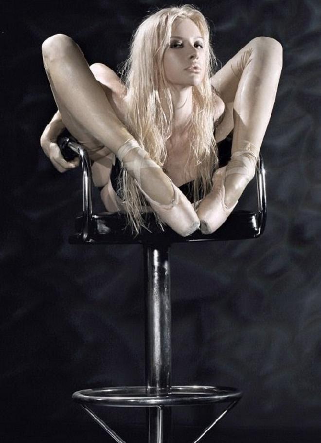 На что способна самая гибкая женщина в мире рис 5