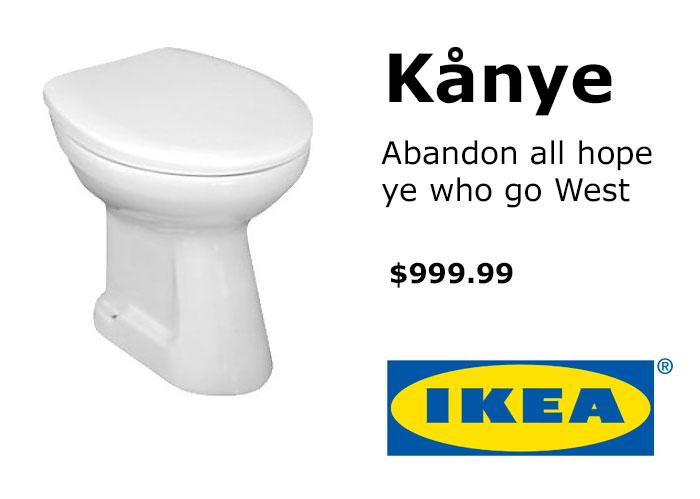 Вот такой Кардаш! IKEA и ее поклонники троллят Канье Уэста рис 10
