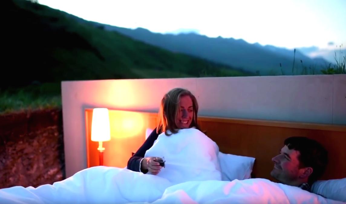 Отель без стен и потолка с лучшим видом на Швейцарские Альпы рис 4