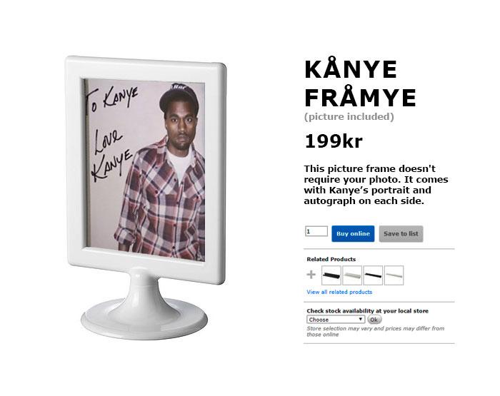 Вот такой Кардаш! IKEA и ее поклонники троллят Канье Уэста рис 5