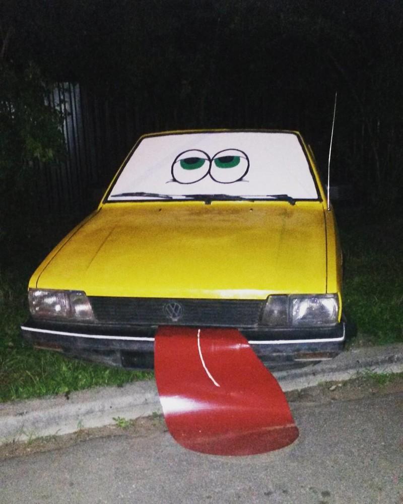 Четыре колеса и жесткий автоугар рис 12
