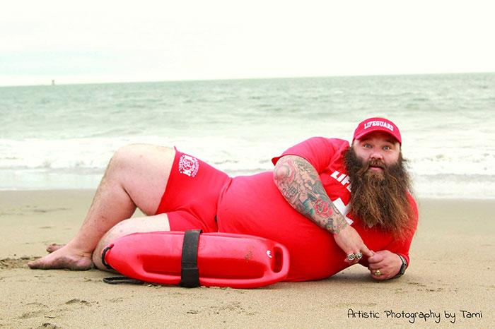 Пляжный бродуар этого парня поднял планку для фотосессий на новый уровень рис 2