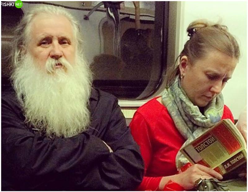 Еду я как-то в общественном транспорте, вы не поверите, с кем! рис 12