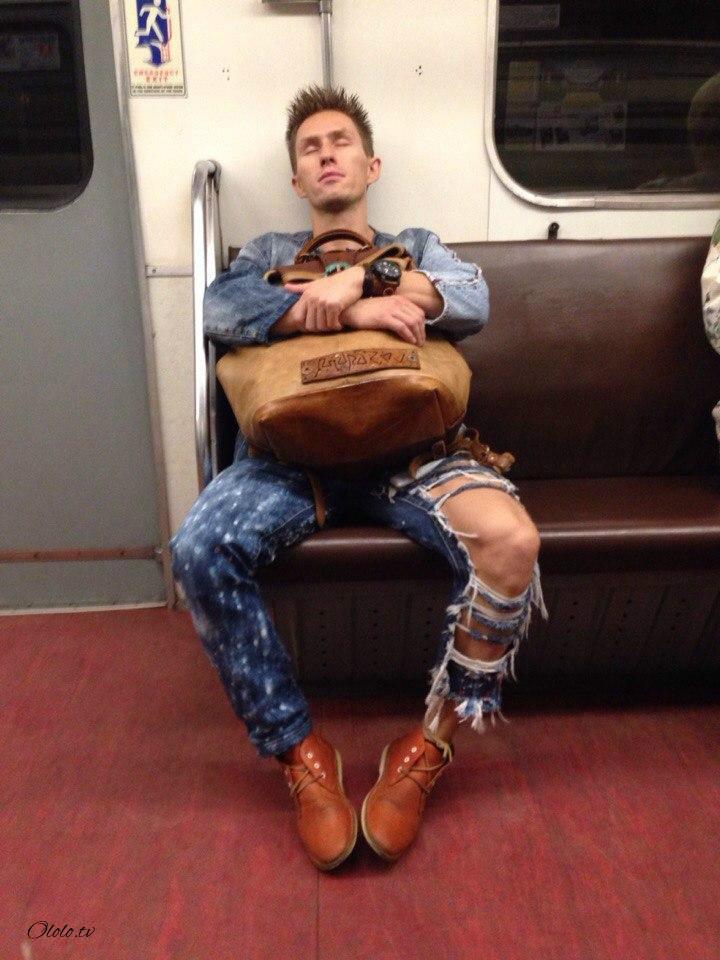 Модные люди в метро: осторожно, здесь может быть ваша фотография! рис 14