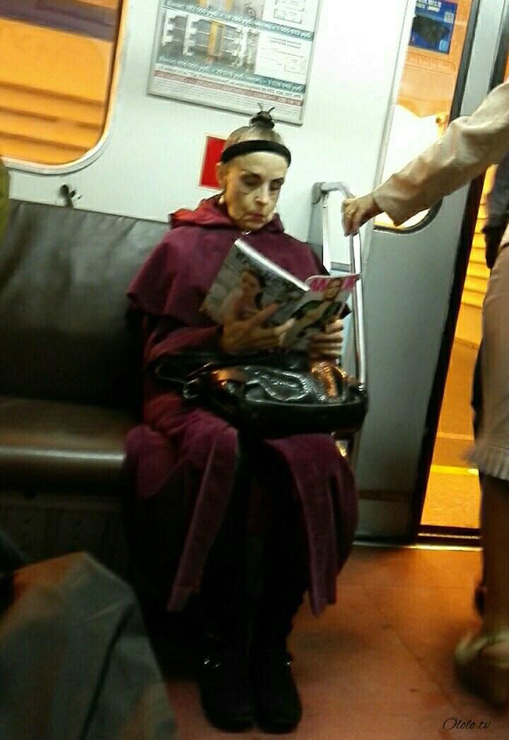 Модные люди в метро: осторожно, здесь может быть ваша фотография! рис 11