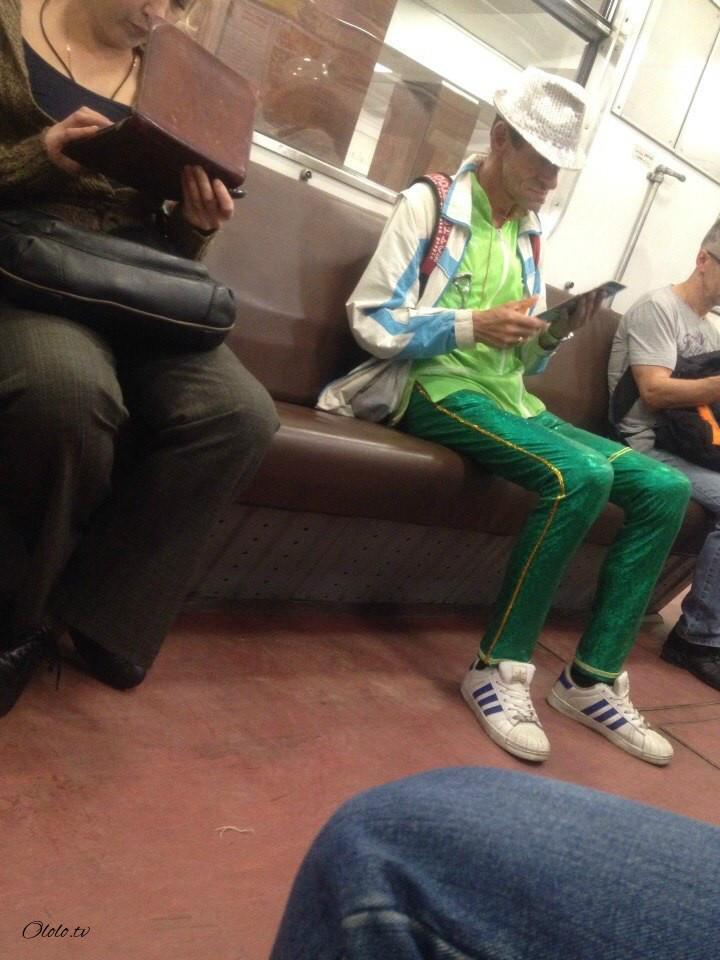 Модные люди в метро: осторожно, здесь может быть ваша фотография! рис 5