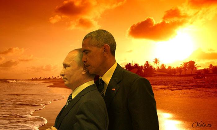 Пронзительный взгляд Обамы и Путина с упоением троллят в сети: фото-пародии со всего света рис 9