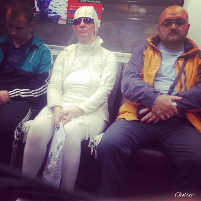 Модные люди в метро: осторожно, здесь может быть ваша фотография! рис 9