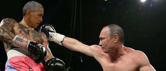 Пронзительный взгляд Обамы и Путина с упоением троллят в сети: фото-пародии со всего света рис 11
