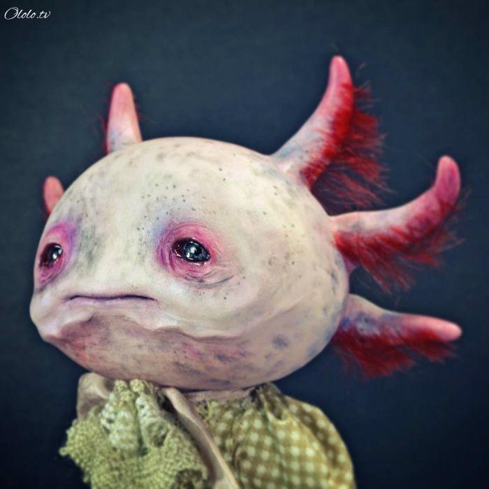 Художница из Испании оживляет сказочных существ рис 7