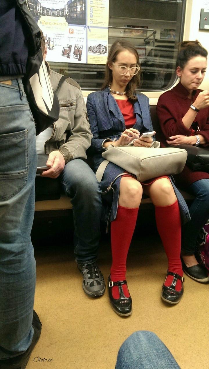 Модные люди в метро: осторожно, здесь может быть ваша фотография! рис 4
