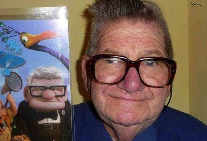 Эти люди как две капли воды похожи на героев популярных мультфильмов! рис 6