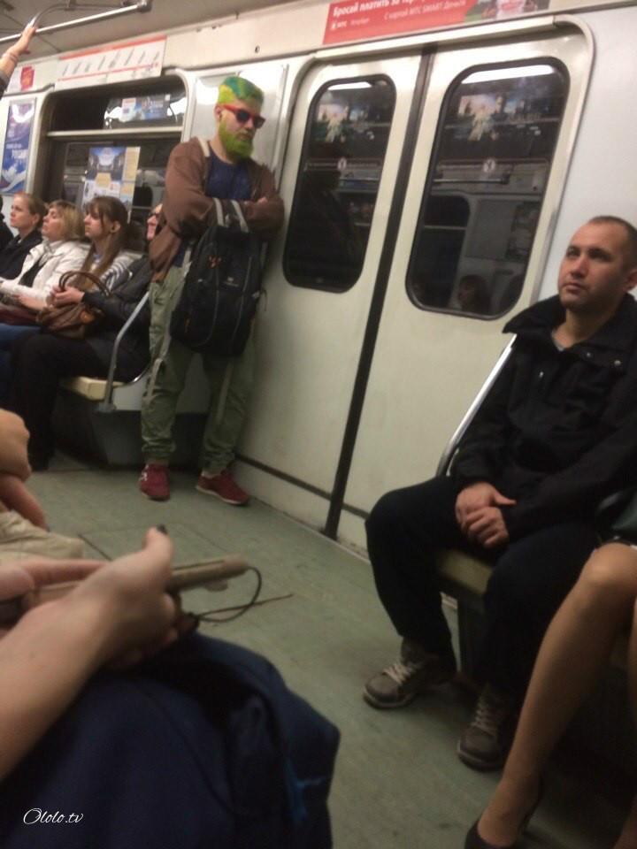 Модные люди в метро: осторожно, здесь может быть ваша фотография! рис 2