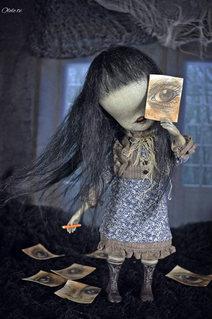 Художница из Испании оживляет сказочных существ рис 5