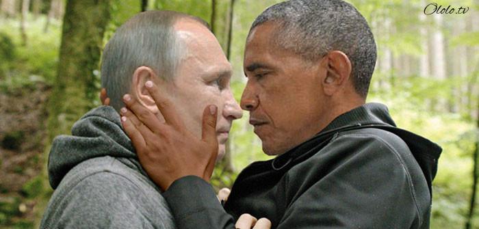 Пронзительный взгляд Обамы и Путина с упоением троллят в сети: фото-пародии со всего света рис 2