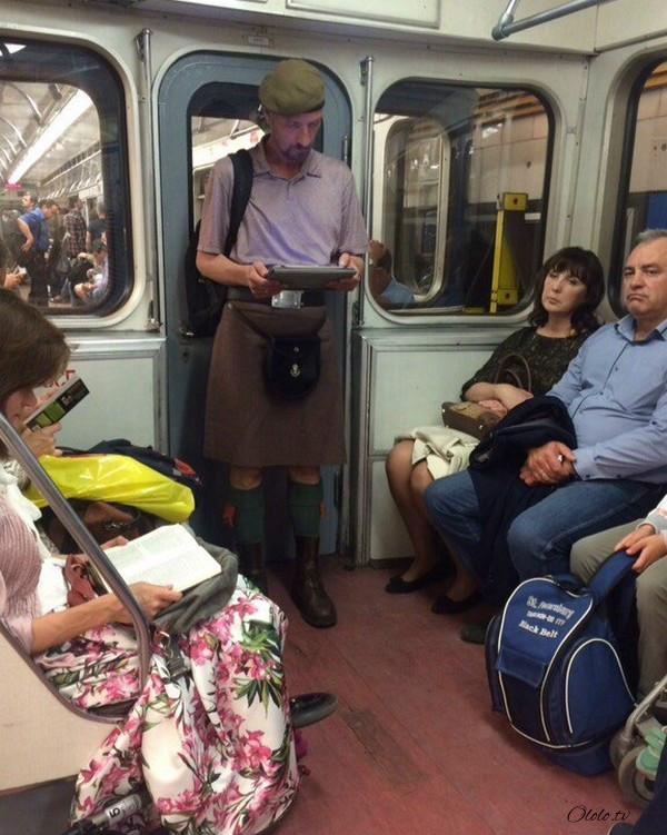 Модные люди в метро 2: осторожно, здесь может быть ваша фотография! рис 8