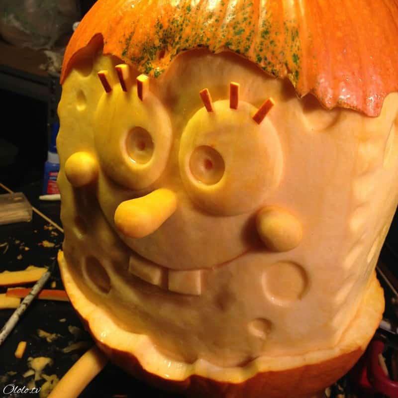 Мороз по коже: самые жуткие тыквы на Хэллоуин рис 7