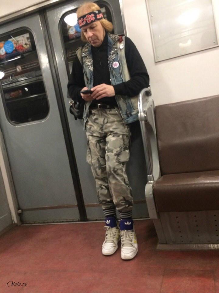 Модные люди в метро 2: осторожно, здесь может быть ваша фотография! рис 5