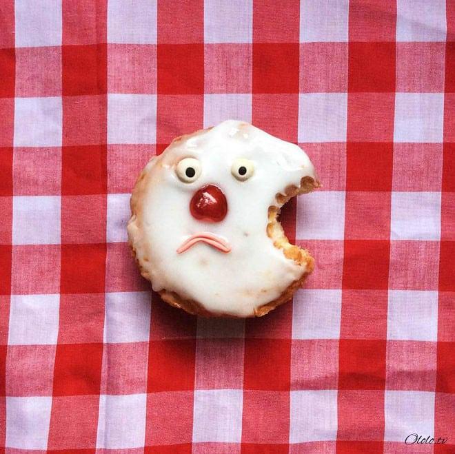 Стилист создаёт забавных персонажей из еды