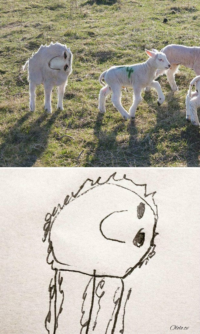 Папа превращает рисунки своего маленького сына в реальность рис 4