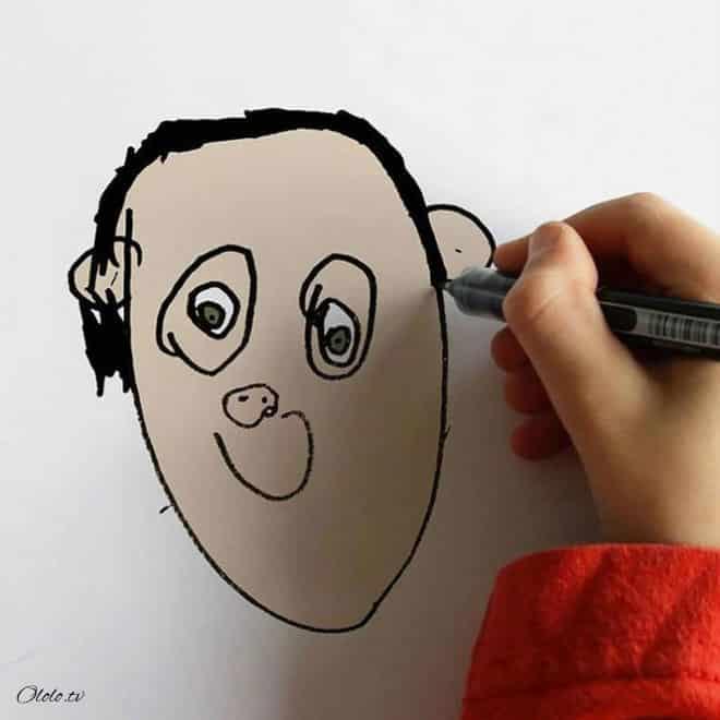 Папа превращает рисунки своего маленького сына в реальность рис 10