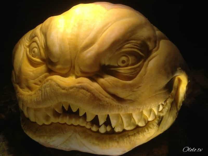 Мороз по коже: самые жуткие тыквы на Хэллоуин рис 2