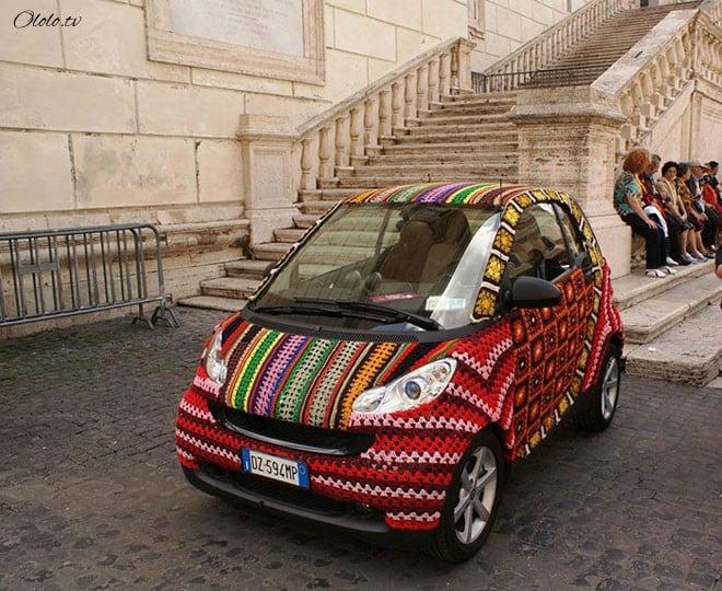 20 творческих автолюбителей, которые дополнили своё авто забавным креативом рис 15
