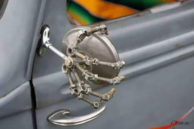 20 творческих автолюбителей, которые дополнили своё авто забавным креативом рис 17