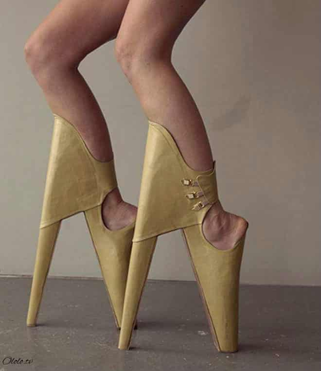 20 примеров дизайнерской обуви, при виде которой у вас челюсть упадёт!