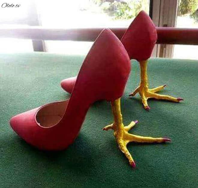 20 примеров дизайнерской обуви, при виде которой у вас челюсть упадёт! рис 3