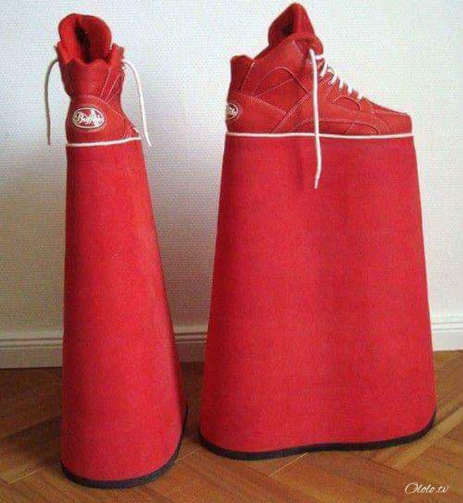 20 примеров дизайнерской обуви, при виде которой у вас челюсть упадёт! рис 5