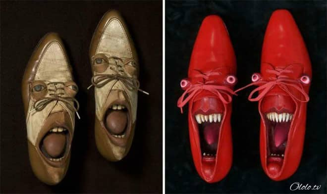 20 примеров дизайнерской обуви, при виде которой у вас челюсть упадёт! рис 2