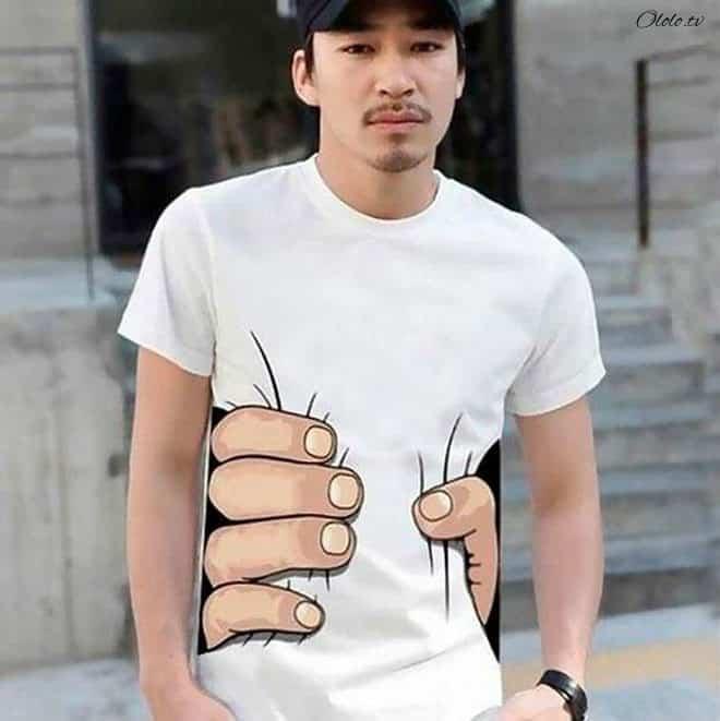 Креативные футболки, которые вы точно захотели бы себе купить рис 13