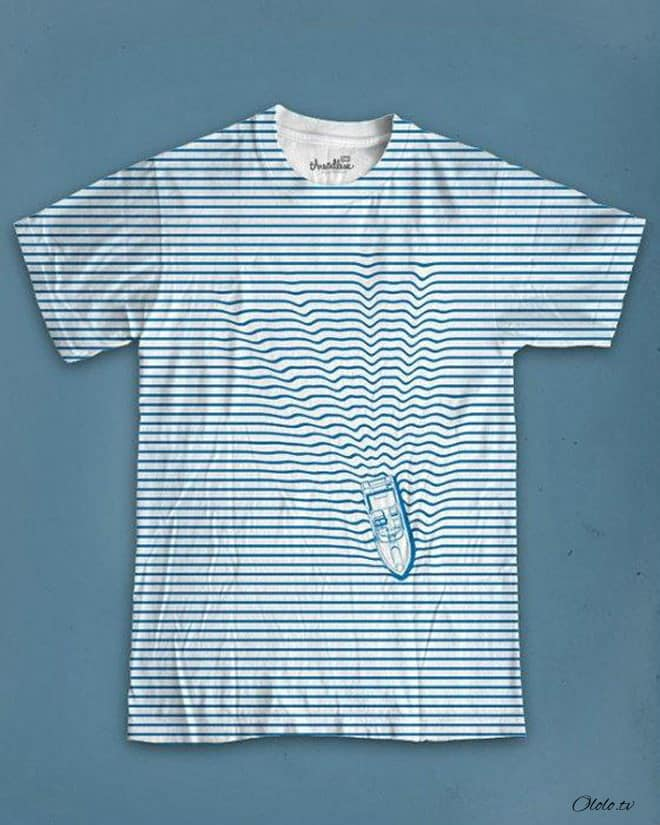 Креативные футболки, которые вы точно захотели бы себе купить рис 7