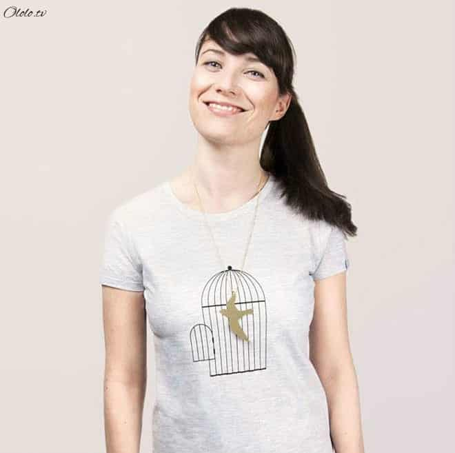 Креативные футболки, которые вы точно захотели бы себе купить рис 12